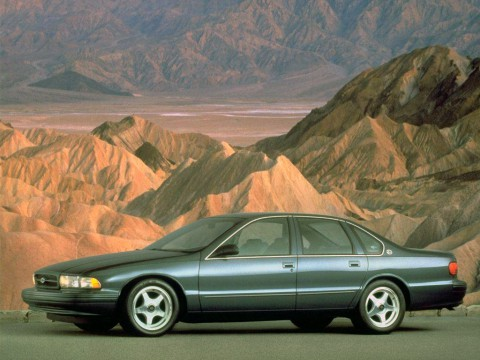 Technical specifications and characteristics for【Chevrolet Impala VI】