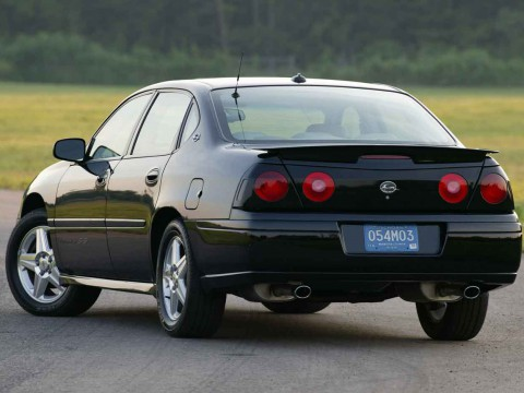 Technical specifications and characteristics for【Chevrolet Impala (W)】