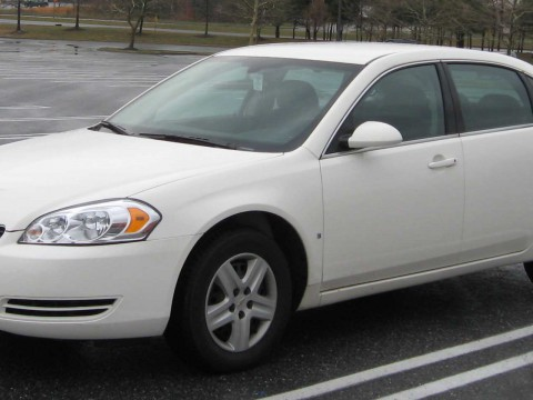 Technical specifications and characteristics for【Chevrolet Impala】