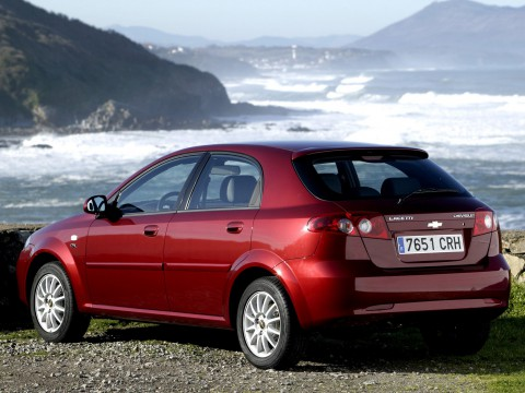 Technical specifications and characteristics for【Chevrolet Lacetti Hatchback】
