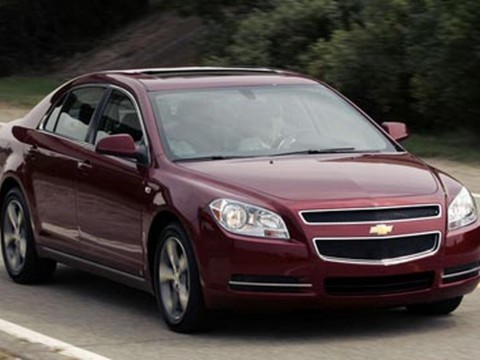 Technical specifications and characteristics for【Chevrolet Malibu VII】
