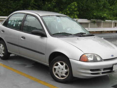 Technical specifications and characteristics for【Chevrolet Metro Sedan (MR226)】