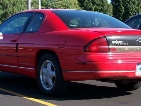 Technical specifications and characteristics for【Chevrolet Monte Carlo】