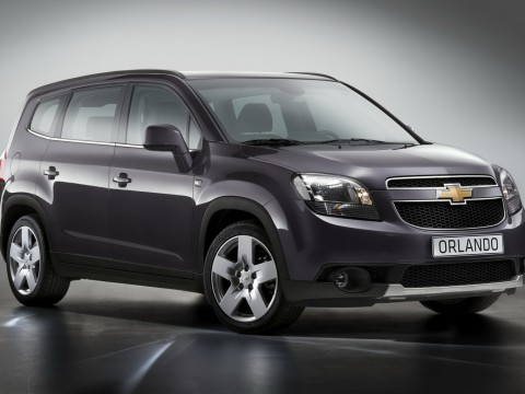 Technical specifications and characteristics for【Chevrolet Orlando】