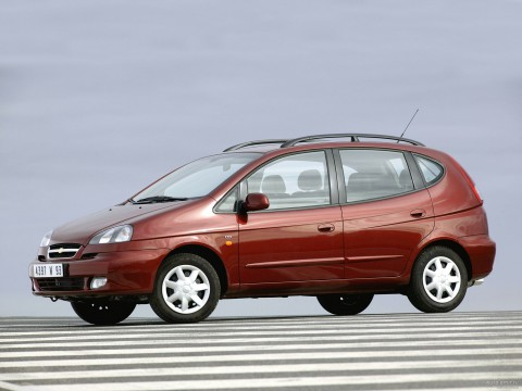 Technical specifications and characteristics for【Chevrolet Rezzo】