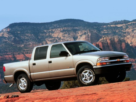 Technical specifications and characteristics for【Chevrolet S-10 Pickup】