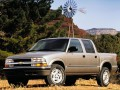Technical specifications of the car and fuel economy of Chevrolet S-10 Pickup