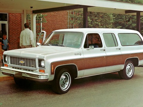 Technical specifications and characteristics for【Chevrolet Suburban (C/K)】
