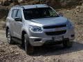Technical specifications of the car and fuel economy of Chevrolet Trailblazer