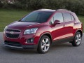 Technical specifications of the car and fuel economy of Chevrolet Trax