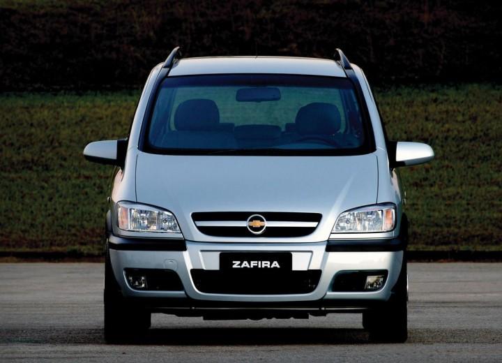 Chevrolet Zafira Zafira 2 0 8v 116 Hp Especificaciones