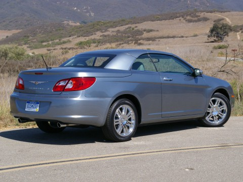 Technical specifications and characteristics for【Chrysler Sebring Convertible III】