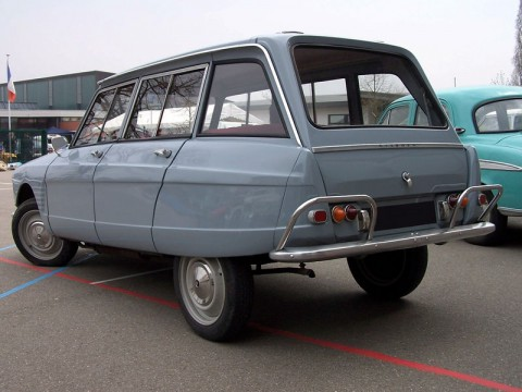 Technical specifications and characteristics for【Citroen AMI Break】