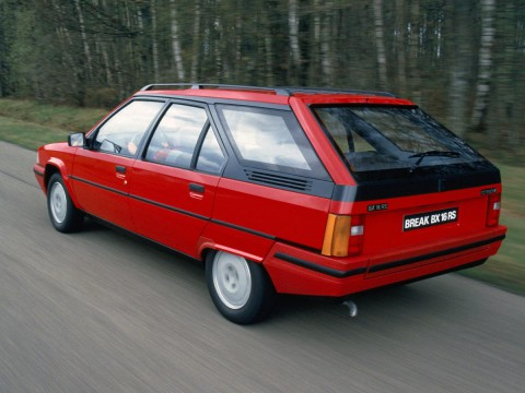 Technical specifications and characteristics for【Citroen BX Break (XB-_)】
