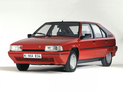 Technical specifications and characteristics for【Citroen BX (XB-_)】