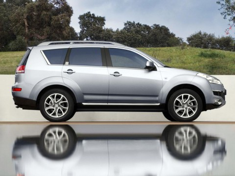 Technical specifications and characteristics for【Citroen C-Crosser】