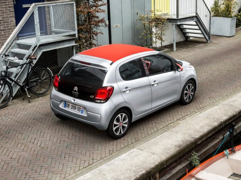 Technical specifications and characteristics for【Citroen C1 II】
