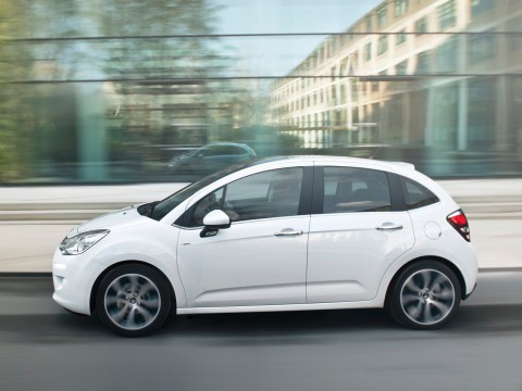Technical specifications and characteristics for【Citroen C3 II Restyling】