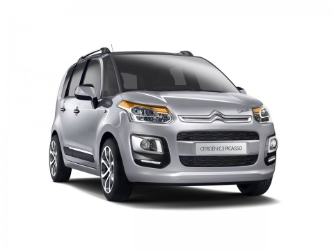 Technical specifications and characteristics for【Citroen C3 Picaso Restyling】