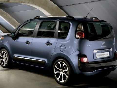Technical specifications and characteristics for【Citroen C3 Picasso】