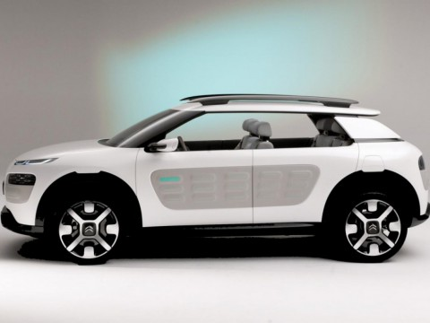 Technical specifications and characteristics for【Citroen C4 Cactus】