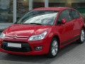 Technical specifications and characteristics for【Citroen C4 Coupe】