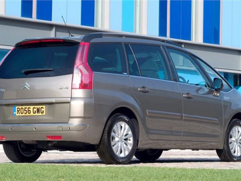 Technical specifications and characteristics for【Citroen C4 Grand Picasso】