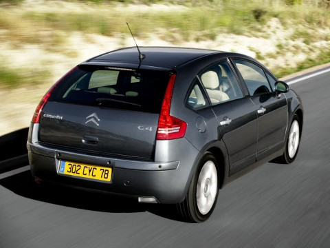 Technical specifications and characteristics for【Citroen C4 Hatchback】