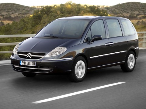 Technical specifications and characteristics for【Citroen C8】