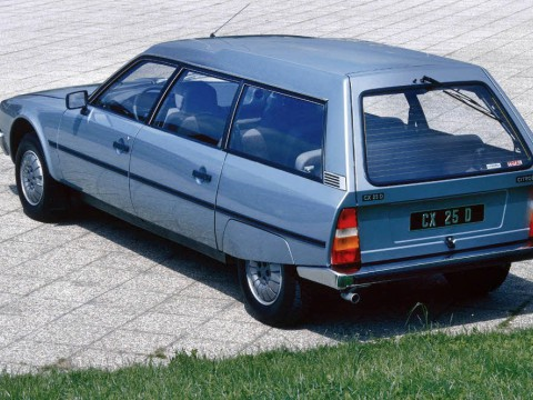 Technical specifications and characteristics for【Citroen CX I Break】