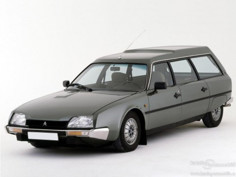 Technical specifications and characteristics for【Citroen CX II Break】