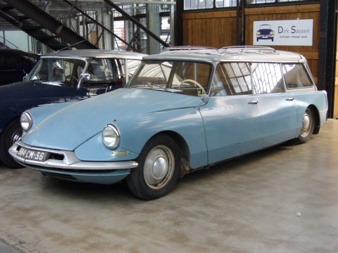 Technical specifications and characteristics for【Citroen DS Break】
