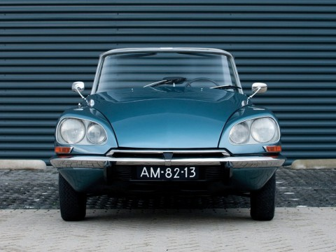 Technical specifications and characteristics for【Citroen DS Cabriolet】