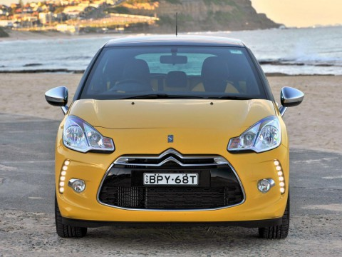 Technical specifications and characteristics for【Citroen DS3】