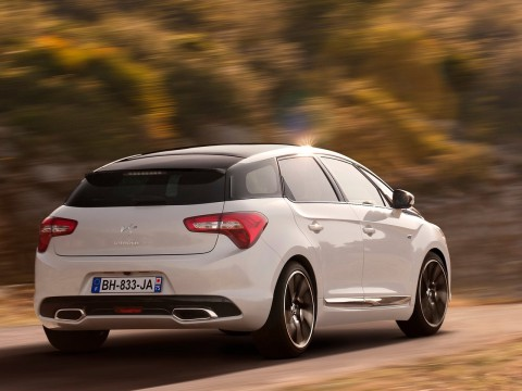 Technical specifications and characteristics for【Citroen DS5】