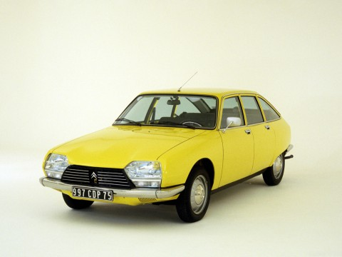 Technical specifications and characteristics for【Citroen GS】