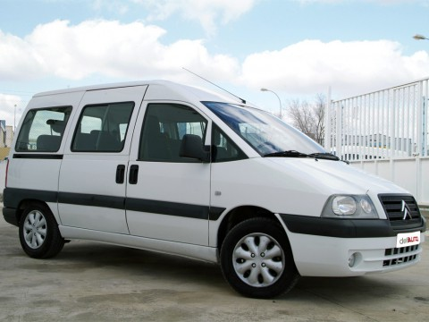 Technical specifications and characteristics for【Citroen Jumpy I Multispace】