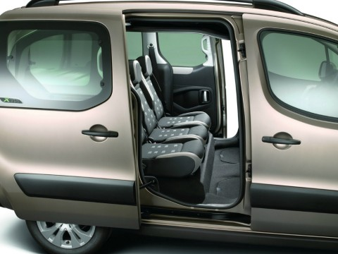 Technical specifications and characteristics for【Citroen Jumpy II Multispace】