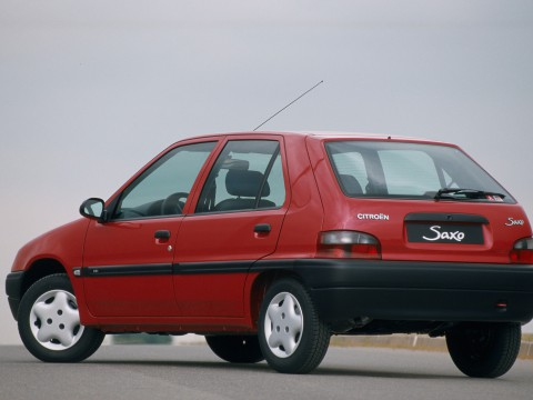 Technical specifications and characteristics for【Citroen Saxo (S0,S1)】