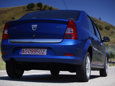 Technical specifications and characteristics for【Dacia Logan I facelift】