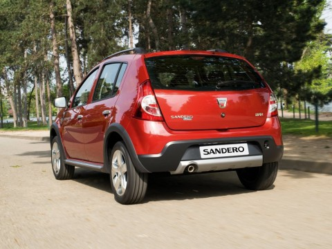 Technical specifications and characteristics for【Dacia Sandero I stepway】