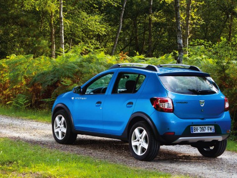 Technical specifications and characteristics for【Dacia Sandero II stepway】