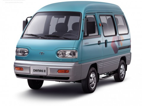 Technical specifications and characteristics for【Daewoo Damas II】