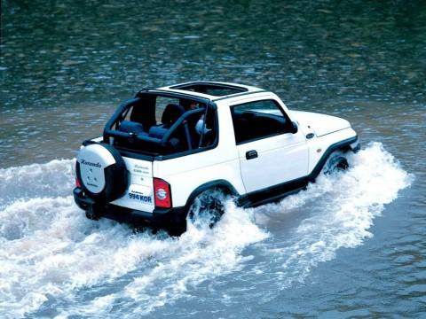 Technical specifications and characteristics for【Daewoo Korando Cabrio (KJ)】
