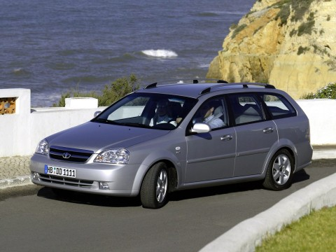 Technical specifications and characteristics for【Daewoo Nubira Combi III】