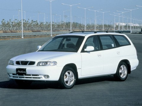 Technical specifications and characteristics for【Daewoo Nubira Combi】