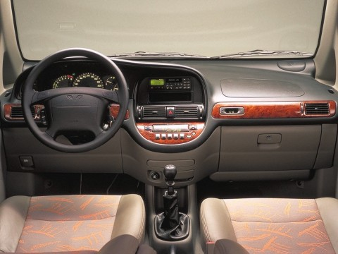 Technical specifications and characteristics for【Daewoo Tacuma】