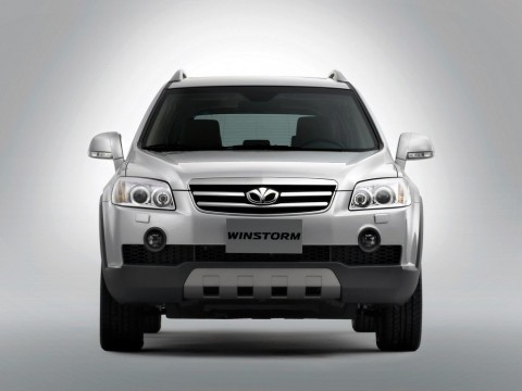 Technical specifications and characteristics for【Daewoo Winstorm】