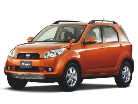 Technical specifications and characteristics for【Daihatsu Be-go CX (J)】