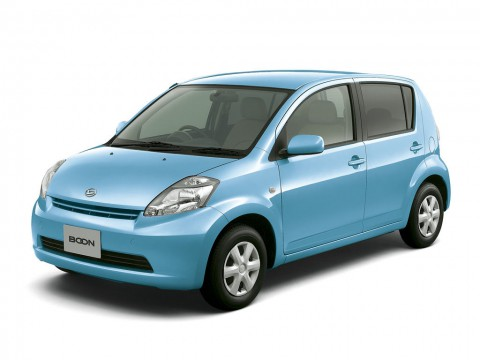 Technical specifications and characteristics for【Daihatsu Boon】